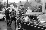 Castleton Garland day, Castleton Derbyshire England. May 29th 1972
