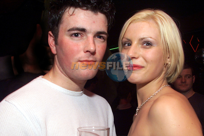 Eric McCarthy and Julie Campbell pictured enjoying a night in the Earth..Picture: Arthur Carron/Newsfile