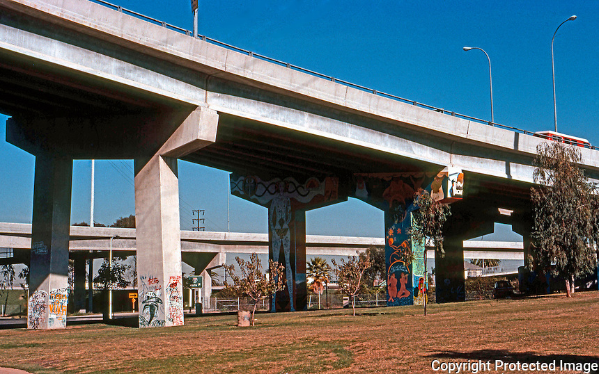 San Diego: Coronado Bridge Approaches. Photo '77.