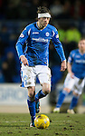 St Johnstone v Partick Thistle&hellip;02.03.16  SPFL McDiarmid Park, Perth<br />Murray Davidson<br />Picture by Graeme Hart.<br />Copyright Perthshire Picture Agency<br />Tel: 01738 623350  Mobile: 07990 594431