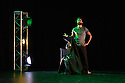 """London, UK. 02.07.2016. Salah el Brogy rehearses his new work """"Letting Go"""", at the Rose Theatre, where he is appearing as part of the Ignition Festival 2016. Photograph © Jane Hobson."""