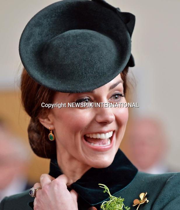 Kate Middleton & Prince William Enjoy Pint Of Guinness