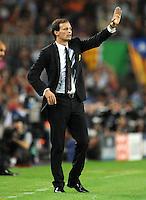 FUSSBALL   CHAMPIONS LEAGUE   SAISON 2011/2012   GRUPPE  H 13.09.2011 FC Barcelona - AC Mailand  Trainer Massimilliano Allegri (AC Mailand)