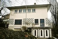 Josef Maria Olbrich: Olbrich House, Darmstadt 1901. Photo '87.