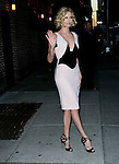 """Celebrities visit """"Late Show with David Letterman"""" December 8, 2011 New York, Ny"""