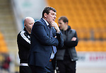 St Johnstone v Partick Thistle&hellip;29.10.16..  McDiarmid Park   SPFL<br />Tommy Wright looks on<br />Picture by Graeme Hart.<br />Copyright Perthshire Picture Agency<br />Tel: 01738 623350  Mobile: 07990 594431