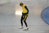 SCHAATSEN: GRONINGEN: Sportcentrum Kardinge, 17-01-2015, KPN NK Sprint, Kjeld Nuis, ©foto Martin de Jong