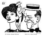 Funny Face: Jo Stockton -- Audrey Hepburn Dick Avery -- Fred Astaire