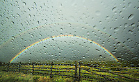 Raindrops &amp; Rainbows - Colorado - the Dallas Divide in the San Juan Mountains