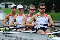 Amsterdam, NETHERLANDS, USA BLM4-,  2011 FISA U23 World Rowing Championships, Wednesday, 20/07/2011 [Mandatory credit:  Intersport Images]