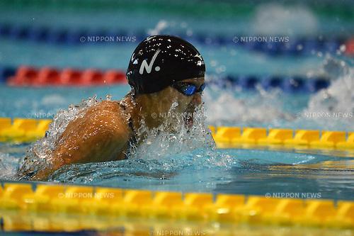 Mina Matsushima (JPN),.SEPTEMBER 7, 2012 - Swimming : The 88th Inter College Swimming Championship 2012 during Women's 100m Breaststroke Heat at Tatsumi International Swimming Pool, Tokyo, Japan.(Photo by Jun Tsukida/AFLO SPORT) [0003]