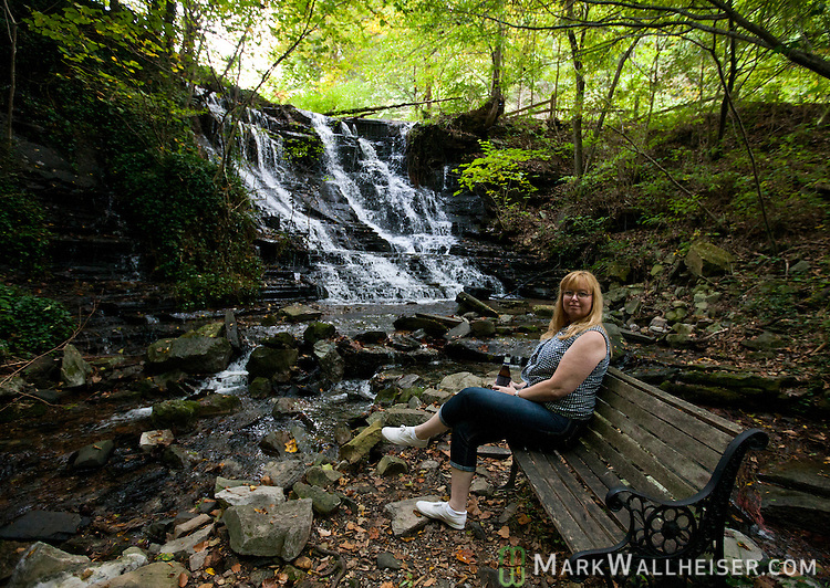 Ledford Mill waterfall outside Shelbyville, Tennessee September 28, 2012.