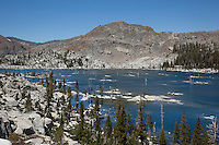 """Lake Aloha 4"" - Photograph of Lake Aloha in the Tahoe Desolation Wilderness."