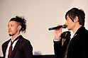 December, 19th : Tokyo, Japan &ndash; Joe Odagiri (L) and Jang Dong-gu (R) appear at a press conference for the film &ldquo;MY WAY&rdquo; in the Shinjuku WALD9 CINEMA. This story is based on a true story during the World War . This film will be released from January 14th. (Photo by Yumeto Yamazaki/AFLO).