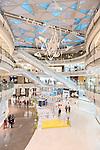 IFC shopping mall interior in Shanghai, China 2014