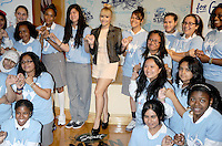 Demi Lovato surprises students of the Young Women's Leadership School in East Harlem