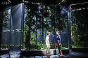 London, UK. 28.05.2015. Ninagawa Company presents KAFKA ON THE SHORE, baased on the work by Haruki Murakami, adapted for the stage by Frank Galati, directed by Yukio Ninagawa. Lighting desing by Motoi Hattori, with set design by Tsukasa Nakagoshi, and costume design by Ayako Maeda.  Photograph © Jane Hobson.