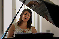 RomeSmarts - Rome Summer Musical Arts..Toyich International Projects in collaboration with the University of Toronto, Canada.Evita Trembley, singer.