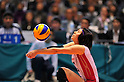 Risa Shinnabe (JPN), NOVEMBER 17,2011 - Volleyball : FIVB Women's Volleyball World Cup 2011,4th Round Tokyo(A) during match between Japan 3-2 Germany at 1st Yoyogi Gymnasium, Tokyo, Japan. (Photo by Jun Tsukida/AFLO SPORT) [0003]