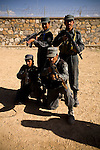 Soldiers from the Czech Republic train policemen of the Afghan National Police (ANP) into becoming a &quot;SWAT&quot; elite team at FOB Shank in the province of Logar in Afghanistan on Sunday, May 31st 2009...Photo: Guilad Kahn.