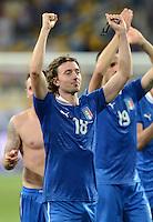 FUSSBALL  EUROPAMEISTERSCHAFT 2012   VIERTELFINALE England - Italien                     24.06.2012 Riccardo Montolivo (Italien)