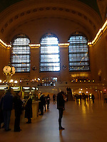 main hall, grand central , NYC, windows, New York