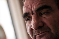February 13, 2016: Bahlaa Buklak, 49 years-old, is a Syrian businessman that became a refugee after the war broke up in Aleppo. Bahlaa owns now a restaurant in the downtown of Gaziantep waiting for the war to end in order to return to his homeland.