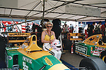 Lorina Mclaughlin at Goodwood Festival of Speed