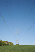 Pylons / overhead power lines / Utility poles UK
