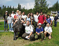 The 14th International Conference on Bear Research and Management, Steinkjer in Norway. Here an excursion to Lierne were bears made times very hard for sheep farmers in recent years.