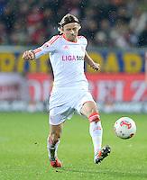 FUSSBALL   1. BUNDESLIGA   SAISON 2012/2013  15. SPIELTAG     SC Freiburg - FC Bayern Muenchen      28.11.2012 Anatoliy Tymoshchuk , Anatoli Timoschtschuk (FC Bayern Muenchen)