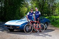 Picture by Alex Whitehead/SWpix.com - 10/05/2017 - Cycling - Maserati Eroica Britannia Ride with David Millar.