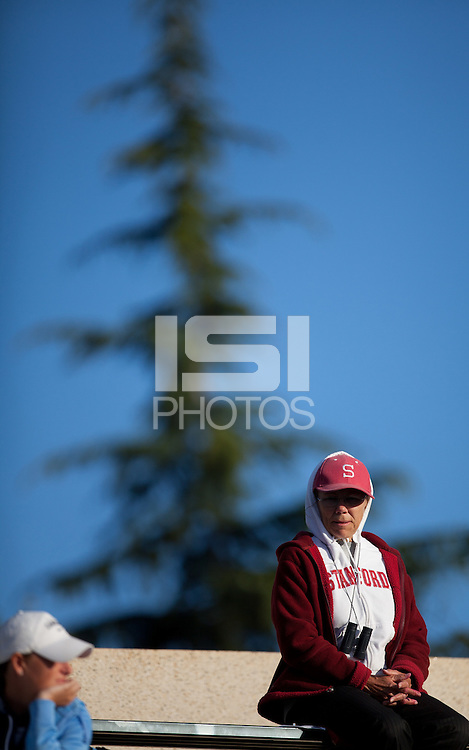 Stanford, CA - May 25, 2011: NCAA Tennis Championships at Taube Tennis Center.