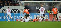 FUSSBALL   1. BUNDESLIGA  SAISON 2012/2013   7. Spieltag FC Augsburg - Werder Bremen          05.10.2012 Stephan Hain (FC Augsburg) auf dem Weg zum 2:1 Tor