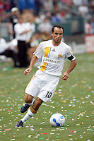 20 May 2007:  Galaxy captain #10 Landon Donovan dribbles the ball during a 1-1 tie for MLS Chivas USA vs. Los Angeles Galaxy pro soccer teams at the Home Depot Center in Carson, CA.