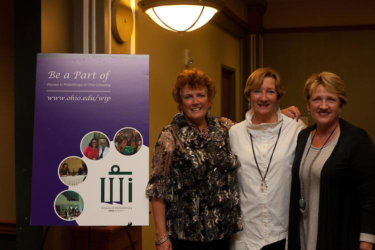Peggy Viehweger at Women in Philanthropy of Ohio University documentary premier at Baker Center Theater on November 6, 2013.