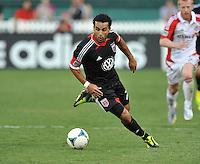 Dwayne De Rosario (7) of D.C. United. Toronto FC tied D.C. United 1-1, at RFK Stadium, Saturday August 24 , 2013.