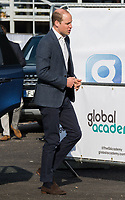 HAYES, UNITED KINGDOM - APRIL 20: William, Duke of Cambridge attends the official opening of The Global Academy in support of Heads Together on April 20, 2017 in Hayes, England. <br /> CAP/JOR<br /> &copy;JOR/Capital Pictures