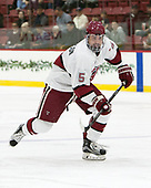 Clay Anderson (Harvard - 5) - The Harvard University Crimson defeated the visiting Boston College Eagles 5-2 on Friday, November 18, 2016, at Bright-Landry Hockey Center in Boston, Massachusetts.{headline] - The Harvard University Crimson defeated the visiting Boston College Eagles 5-2 on Friday, November 18, 2016, at Bright-Landry Hockey Center in Boston, Massachusetts.