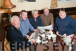 The judging panel for the 2016 Kerry's Eye Christmas Hamper competition From Left: Jim O'Gorman, Thomas Hannafin, Dan Dwyer, Seamus Roche and Sylvester Hennessy.