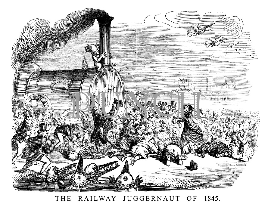 The Railway Juggernaut of 1845.