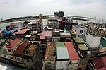 Phnom Penh skyline looking towards Tonle Sap river