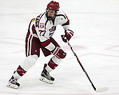 Lewis Zerter-Gossage (Harvard - 77) - The Harvard University Crimson defeated the US National Team Development Program's Under-18 team 5-2 on Saturday, October 8, 2016, at the Bright-Landry Hockey Center in Boston, Massachusetts.
