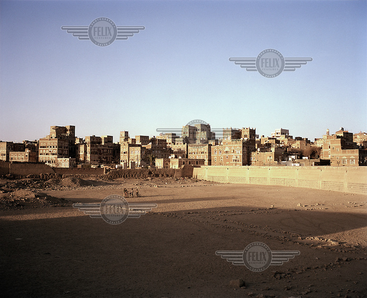 View of the ancient city of Sana'a..