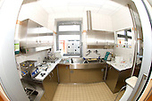 A room fitted with automatic equipment to clean and sterilise endoscopes after use. Royalty Free