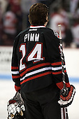Braden Pimm (NU - 14) - The visiting Northeastern University Huskies defeated the Boston University Terriers 6-5 on Friday, January 18, 2013, at Agganis Arena in Boston, Massachusetts.