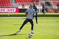 Toronto, ON, Canada - Friday Dec. 09, 2016: Erik Friberg during training prior to MLS Cup at BMO Field.