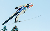MATTEL Coline of France competes during 11th Women FIS Ski Jumping World Cup competition in Planica replacing Ljubno  on January 25, 2014 at HS95, Planica, Slovenia. Photo by Vid Ponikvar / Sportida