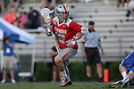 09 May 2015: Ohio State's David Planning. The Duke University Blue Devils hosted the Ohio State University Buckeyes at Koskinen Stadium in Durham, North Carolina in a 2015 NCAA Division I Men's Lacrosse Tournament First Round match. Ohio State won the game 16-11.