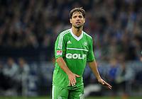 FUSSBALL   1. BUNDESLIGA  SAISON 2012/2013   7. Spieltag   FC Schalke 04 - VfL Wolfsburg        06.10.2012 Diego (VfL Wolfsburg) enttaeuscht
